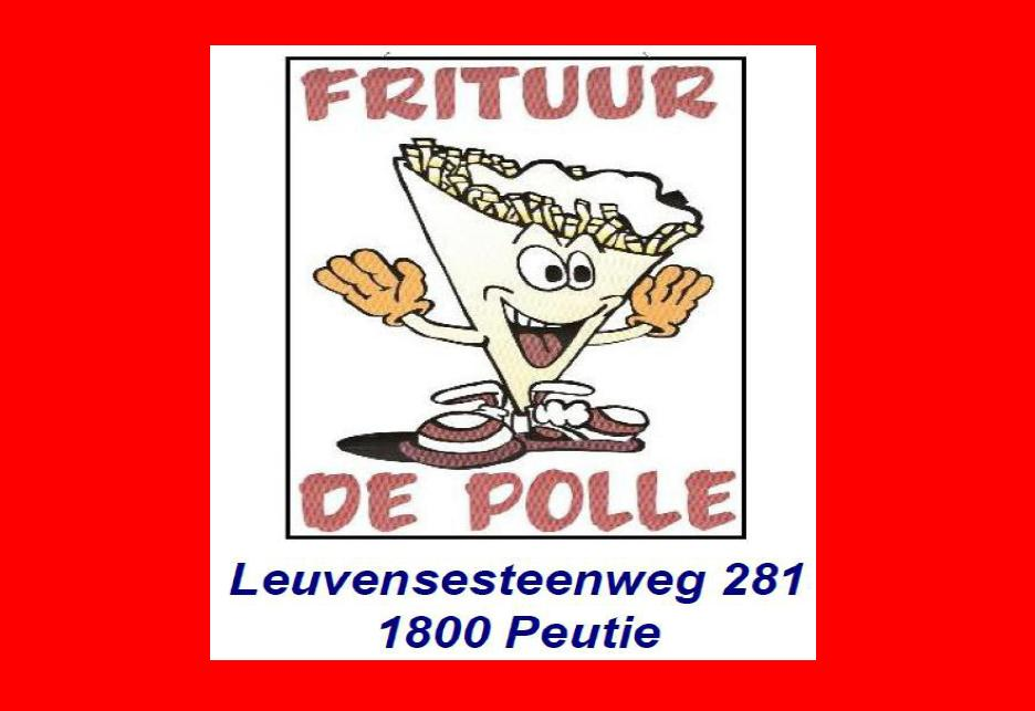Frituur de Polle Peutie (Vilvoorde) Leuvensesteenweg 281 1800 Peutie (Vilvoorde)